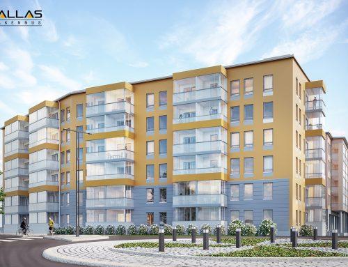 Pallas Rakennus Länsi-Suomi rakentaa YH Kodeille 87 asuntoa Kangasalle